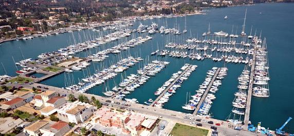 Gouvia marina yacht charters luxury motor or sailing boats